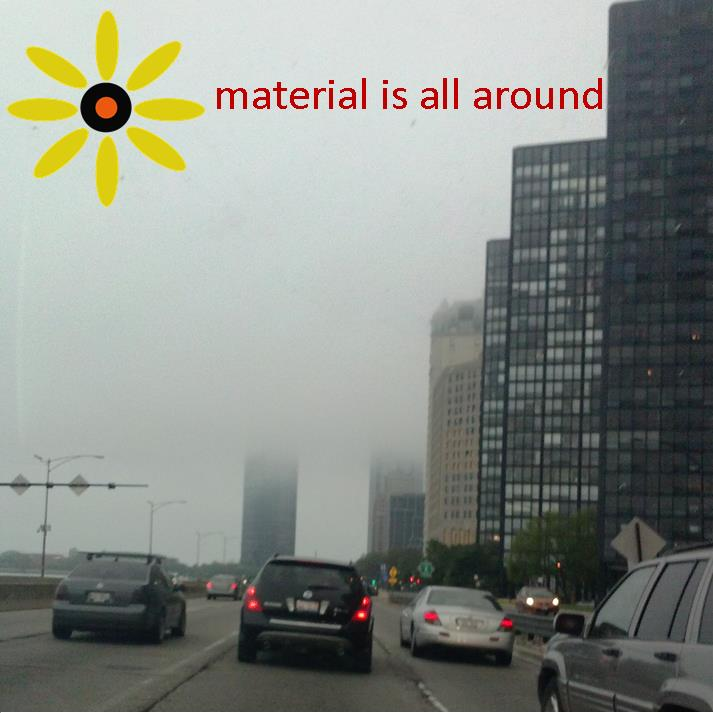 Material is all around: Climate 2014