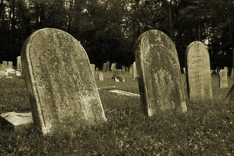 I Am Famous For Something and Living With a Colored Cemetery